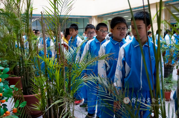 初中部组织学生到渤海大学参观